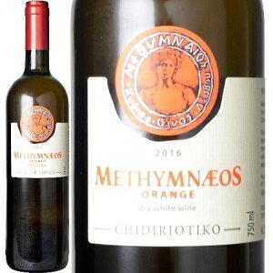 メシムネオス、オーガニック ドライ オレンジ ワイン 2016 レスヴォス島