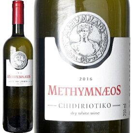 メシムネオス、オーガニック ドライ ホワイト ワイン 2016 レスヴォス島