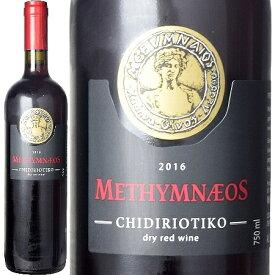 メシムネオス、オーガニック ドライ レッド ワイン 2016 レスヴォス島