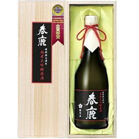 春鹿(奈良)、純米大吟醸 原酒 720ml/木箱入り