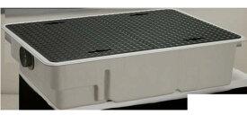 前澤化成 FRP グリストラップ パイプ流入埋設超浅+ 鉄蓋・耐圧t-0人道荷重:GT-XL20P + 鉄蓋 無荷重 T-0(受座無)(81651)∴∴ グリース 阻集器 厨房 排水 桝 マス 鋼板製蓋