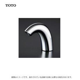 TOTO 台付自動水栓 サーモ13(電気開閉)(洗面)(JIS):TENA50A 100V ポップアップ無 28穴 85゜ .在 (常)∴