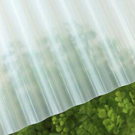 タキロン 硬質塩ビナミイタ 鉄板小波(32波) 71 クリアフロスト:Lナミ 71 7尺(2120x655x0.8) (211710) (10枚入) ∴タキロンシーアイ 塩化ビニール エンビ 波 板 壁 車庫 倉庫 屋根 外壁 纏め買い まとめがい