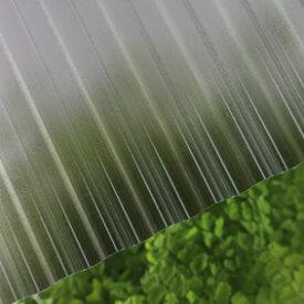 タキロン ポリカナミイタ 鉄板小波(32波) 850 ブロンズマット:PCナミ32R 850 7尺(2120x655x0.7) (217712) 10枚入り ∴タキロンシーアイ ポリカーボネート 波 板 壁 車庫 倉庫 屋根 外壁
