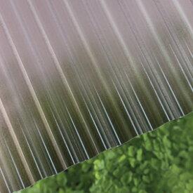 タキロン ポリカナミイタ 熱線カット 鉄板小波(32波) 4850 ブロンズマット:PCナミネツ32R 4850 9尺(2720x655x0.7) (235914) (10枚入) ∴タキロンシーアイ ポリカーボネート 波 板 壁 車庫 倉庫 屋根 外壁 纏め買い まとめがい