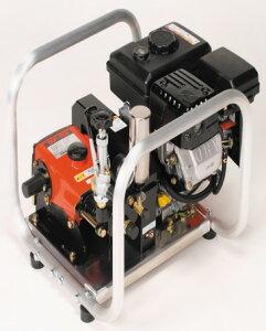 安田工業 エンジンセット動噴 吸水14L : SCA-153M ∴ YASUDA 動力 噴霧機 菜園 散水 散布 洗滌 洗浄 農園 農業 農薬 防除 防虫