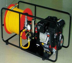 安田工業 エンジンセット動噴 吸水14L : SCM-1500M ・ 2.2KW ∴ YASUDA 動力 噴霧機 菜園 散水 散布 洗滌 洗浄 農園 農業 農薬 防除 防虫