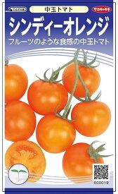 中玉トマト 種 『シンディーオレンジ』 小袋(採苗本数11本) サカタのタネ