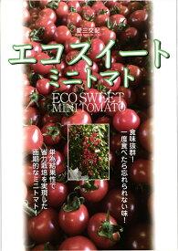ミニトマト 種 『エコスイート』 小袋(12粒) 愛三種苗