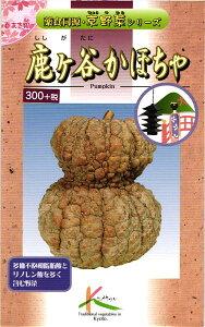 京野菜 種 『鹿ケ谷かぼちゃ』 小袋(8ml) タカヤマシード
