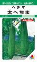 ヘチマ 種 『太へちま』 60粒(MF) タキイ種苗