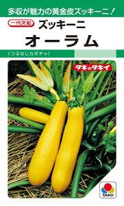 ズッキーニ 種 『オーラム』 500粒 タキイ種苗