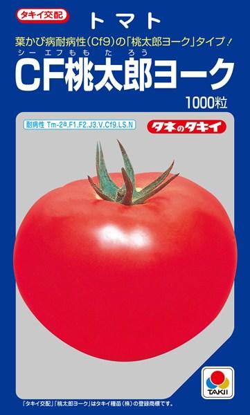 トマト 種 『CF桃太郎ヨーク』 1000粒 タキイ種苗