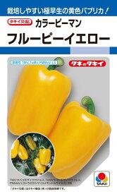 カラーピーマン 種 『フルーピーイエロー』 30粒(DF) タキイ種苗