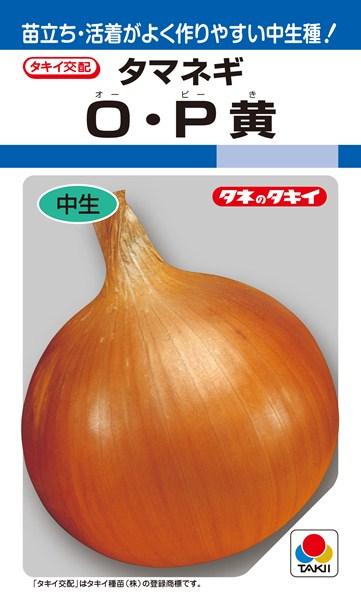 タマネギ 種 『O・P黄』 20ml タキイ種苗