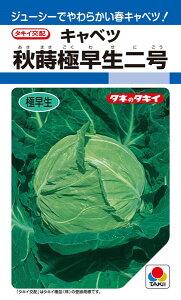 春系及び春キャベツ 種 『秋蒔極早生二号』 1.5ml(DF) タキイ種苗
