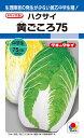 黄芯ハクサイ 種 『黄ごころ75』 1.2ml(DF) タキイ種苗