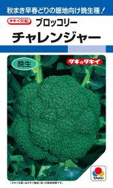ブロッコリー 種 『チャレンジャー』 ABR024 タキイ種苗/1.4ml(DF)