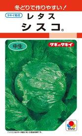 結球レタス 種 『シスコ』 ペレットL5000粒 タキイ種苗
