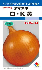 タキイ種苗 タマネギ 玉葱 O・K黄 RF