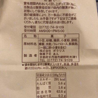 御菓子司あん★がちゃまん原材料表示