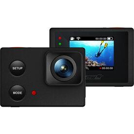【メーカー再生品】フルHDアクションカム ウェアラブルカメラ 40m防水 ISAW EDGE 【ウェアラブルカメラ】【水中カメラ】【防水カメラ】【返品不可】【DM便不可】
