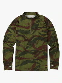 Men's Burton Expedition 1/4 Zip Base Layer 2018FW Brush Camo