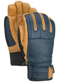 Men's Burton Gondy GORE-TEX Leather Glove Dress Blue L サイズ 10326106400 20FW