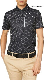 OAKLEY(オークリー)2020SS ゴルフシャツ SKULL DISPLACE GRID SHIRTS