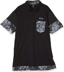 OAKLEY(オークリー)2020SS ゴルフシャツ SKULL PLANT BLOOM SHIRTS