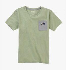 BURTON バートン Women's Burton Bel Mar Short Sleeve Pocket T-Shirt TEE 21399100021