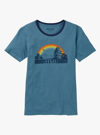Women's Burton Digbee Short Sleeve T Shirt 2018SS Blue Heaven