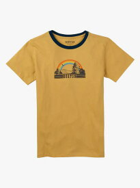 Girls' Burton Digbee Short Sleeve T Shirt 2018SS Ochre