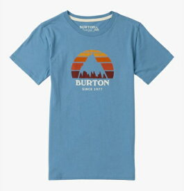 Kids' Burton Underhill Short Sleeve T Shirt 2018SS Blue Heaven