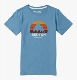 Kids' 子供用 Burton Underhill Short Sleeve T Shirt TEE 2018SS Blue Heaven
