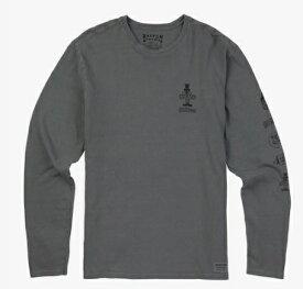 Men's Burton Still Trippn Long Sleeve T Shirt TEE2018SS Castlerock