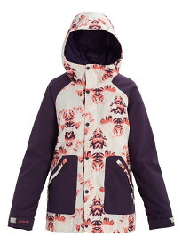 Women's Burton Eastfall Jacket 2020FW Stout White Stylus / Purple Velvet S