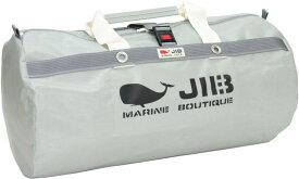 JIB ラージダッフルバッグ DLG210 グレー/アイボリーハンドル67×φ35cm 約64L