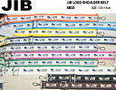 JIB ロゴショルダーベルト/40mm幅/メタルパーツ SB40MG32*対応商品:DSSB125/DSB135/DMB175/FTS56/TN110に取付可※...