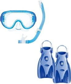 リーフツアラー 旅行用スノーケリング3点セットRP3002 男女兼用 全4色
