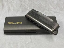 HOHNER CX-12 Black 【クロマチックハーモニカ】