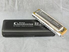 《教則用DVD付き》 HOHNER Chromonica-270 Deluxe (クロモニカ270デラックス)【クロマチックハーモニカ】
