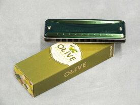 """SUZUKI """"OLIVE (オリーブ)""""【ブルースハープ】"""