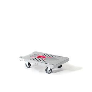 花岡車輌 プラスチック台車 ダンディXシリーズ 平台車 サイレントキャスター XL-F