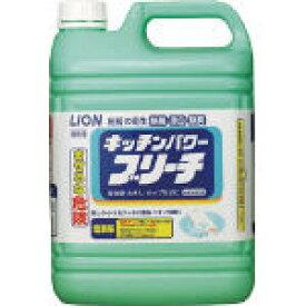 ライオン キッチンパワーブリーチ5kg BLKB5/1本【4088930】