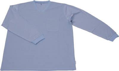 TRUSCO 保護服用インナー サラ感インナー 長袖シャツ XLサイズ TR6001TXL/1着【4519604】