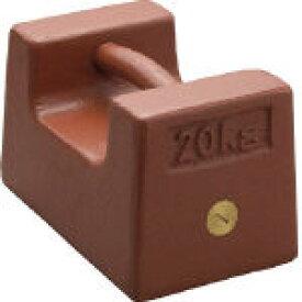 ViBRA 鋳鉄製枕型分銅 20kg M2級 M2RF20K/1個【3924521】