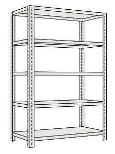 サカエ 軽量開放型棚ボルトレス K1115 【個人宅配送不可】