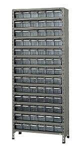 サカエ 物品棚LEK型樹脂ボックス LEK2114-78T 【個人宅配送不可】