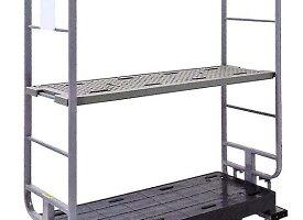 マキテック スーパースライドカート用樹脂製中間棚